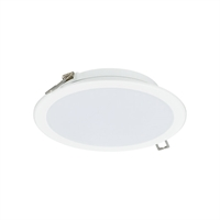 Downlight LED Ledinaire 11W 3000K 950lm Ø175 Hvid