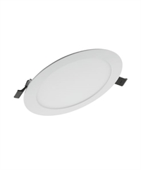 Downlight LED Slim Alu 17W 3000K 1.350lm Ø200 Hvid