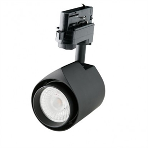 LED skinnespot 35W/930 Sort 38°  3-F DIM